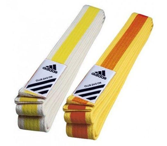 "Picture of Adidas pojas ""Club Budo dva tona"" (ADIB220-ZF)"