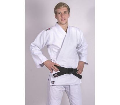 Picture of Ippon Gear FIGHTER SLIMFIT bijela jakna (JJ750SW)