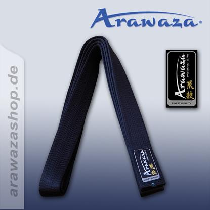 Picture of Arawaza crni pojas  čista svila (RBEBPS)