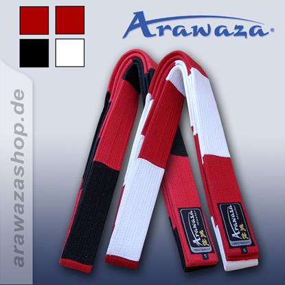 Picture of Arawaza pojas crno-crveno Master (RBEMBRE)