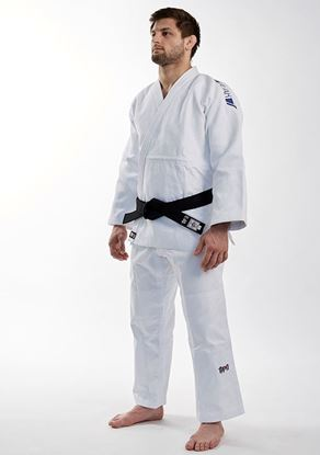 Picture of Ippon Gear FIGHTER LEGENDARY SLIMFIT jakna bijela (JJ750SW-L)