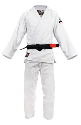 Picture of FUJI All Around BJJ - bijela uniforma (FJ7000)