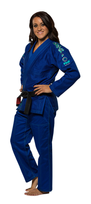 Picture of FUJI Blossom IBJJF BJJ - plava uniform  (FJ7017)