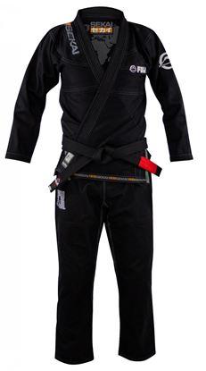 Picture of FUJI Sekai 2.0. BJJ - crna uniforma (FJ8803)
