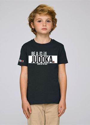 "Picture of Ippon Gear majica  kids ""Be A Judoka"" - crna (JIAPP12)"