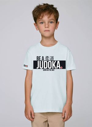 "Picture of IPPON GEAR majica  kids ""Be A Judoka"" - bijela (JIAPP11)"