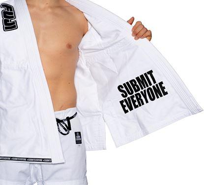 Picture of FUJI Submit Everyone BJJ - bijela uniforma (FJ5700BW)