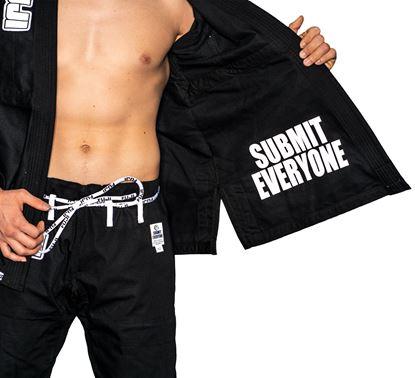 Picture of FUJI Submit Everyone BJJ - crna uniforma (FJ5703BW)